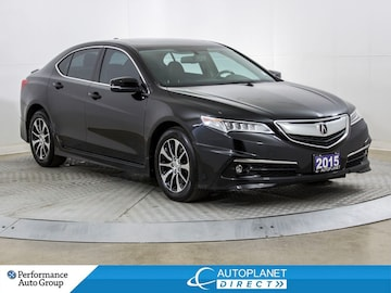 2015 Acura TLX P-AWS, Sunroof, Back Up Cam, Leather! Sedan