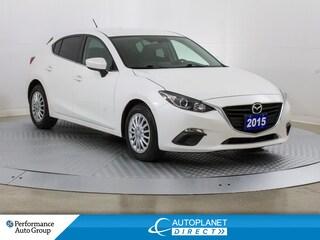 2015 Mazda Mazda3 GS Sport, Back Up Cam, Heated Seats! Hatchback