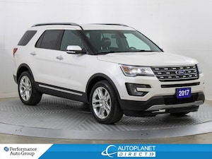 2017 Ford Explorer Limited 4x4, Navi, Sunroof, Heated Seats!