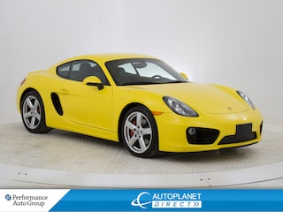 2014 Porsche Cayman S, Navi, Solar Sensors, Heated Seats! Coupe