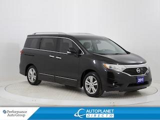 2011 Nissan Quest 3.5 SL, Heated Seats, Bluetooth, Ontario Vehicle! Minivan