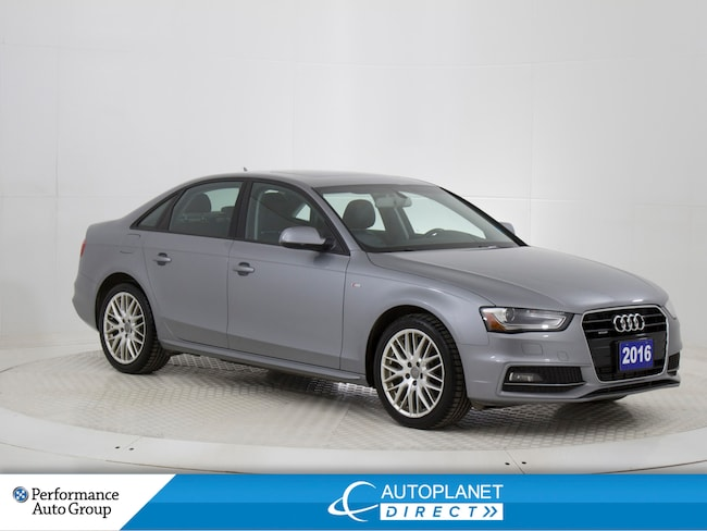 2016 Audi A4 2.0T Quattro, Komfort, Sunroof, Bluetooth! Sedan
