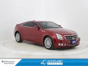 2011 Cadillac CTS 4, Sunroof, Memory Seat, Onstar, Bluetooth!