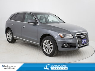 2015 Audi Q5 Quattro, Technik, Pano Roof, Back Up Cam! SUV