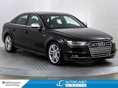 2014 Audi S4 Quattro, Progressiv, Navi, Sunroof, Memory Seat! Sedan
