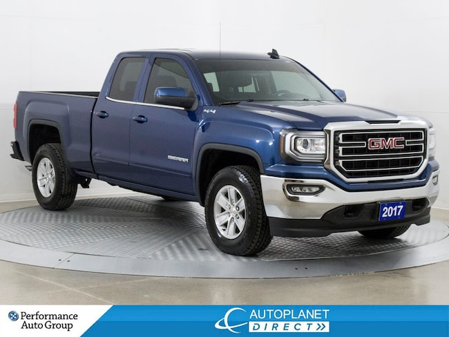 2017 GMC Sierra 1500 SLE 4x4, Back Up Cam, OnStar, Bluetooth! Truck Double Cab