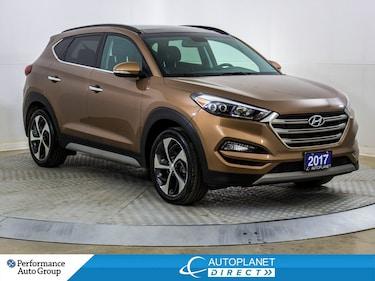 2017 Hyundai Tucson Limited AWD, Navi, Pano Roof, Leather, Bluetooth! SUV