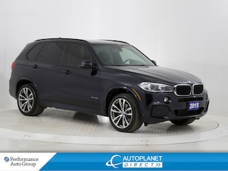 2015 BMW X5 xDrive35i, Premium + M SportPkg, Heads Up Display! SUV