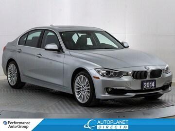2014 BMW 328I xDrive, Navi, Moon Roof, New Tires and Brakes! Sedan