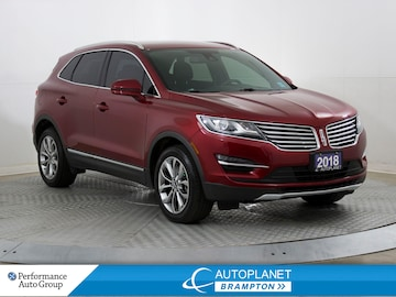 2018 Lincoln MKC Select AWD, Navi, Back Up Cam, Keyless! SUV