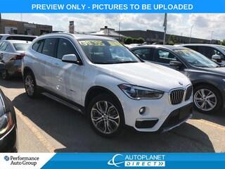 2018 BMW X1 xDrive28i, Premium + Essential Pkg, Pano Roof! SUV