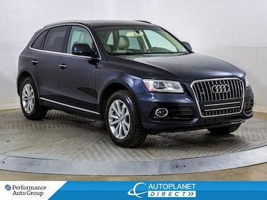 2015 Audi Q5 Quattro, Progressiv, Memory Seats, Leather! SUV