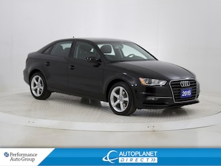 2015 Audi A3 2.0 TDI Komfort Front Trak, Sunroof, Bluetooth! Sedan