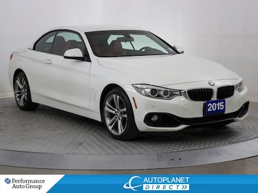 2015 BMW 428i xDrive, Convertible, Navi, Red Leather, Bluetooth! Convertible