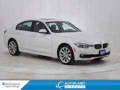 2017 BMW 330i xDrive, Navi, Sunroof, Heated Seats, BMW Assist! Sedan