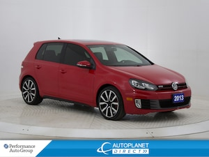 2013 Volkswagen Golf GTI 2.0T, Sunroof, Heated Seats, Leather!