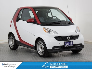 2015 smart fortwo pure, Heated Seats, Clean Carfax! Coupe