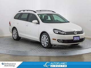 2013 Volkswagen Golf TDI Highline, Navi, Pano Roof, Heated Seats! Wagon