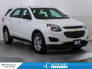 2017 Chevrolet Equinox LS AWD, Back Up Cam, Bluetooth, Clean Carproof!