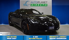 2016 Chevrolet Corvette Stingray Coupe Z51 2LT, Navi, Targa Roof! Coupe