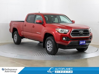 2018 Toyota Tacoma SR5 V6 4x4, Back Up Cam, Toyota Safety Sense! Truck Double Cab