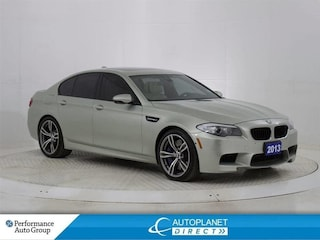 2013 BMW M5 Navi, Heads Up Display, Night Vision System! Sedan