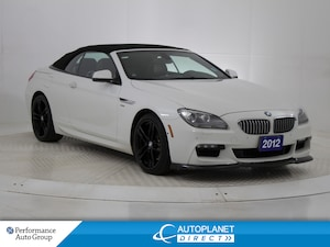 2012 BMW 650 i xDrive Convertible, Navi, Front and Back Up Cam!