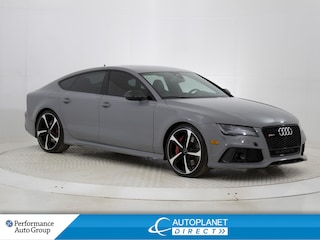 2015 Audi RS 7 4.0T Quattro, S Line, Heads Up Display, Navi! Hatchback