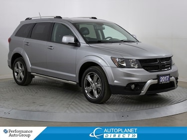 2017 Dodge Journey Crossroad, Customer Pref Pkg, Navi, Sunroof! SUV