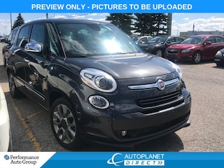 2015 FIAT 500L Lounge, Navi, Pano Roof, Back Up Cam, Leather! Hatchback