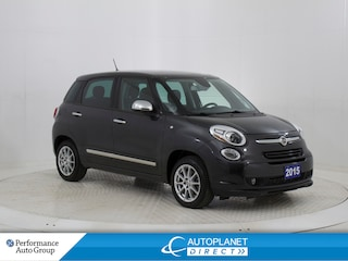 2015 Fiat 500L Lounge, Navi, Back Up Cam, Pano Roof! Hatchback
