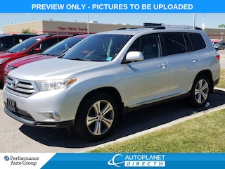 2011 Toyota Highlander Limited AWD, Navi, Sunroof, Back Up Cam, Leather! SUV