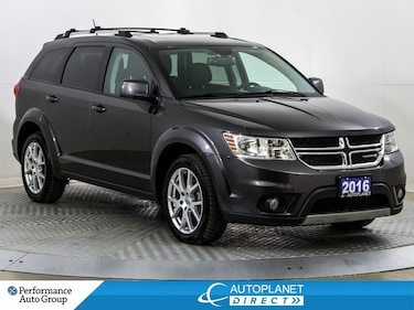2016 Dodge Journey Limited, Back Up Cam, Sunroof, DVD! SUV