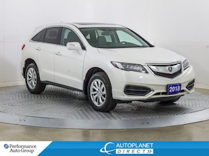 2018 Acura RDX AWD, Tech Pkg, Navi, Sunroof, Remote Start!