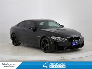 2015 BMW M4 Premium Pkg, Double Clutch, Heads Up Display! Coupe