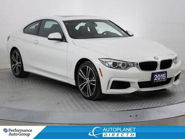 2015 BMW 435i xDrive, Turbo, M-Sport, Navi, Back Up Cam! Coupe