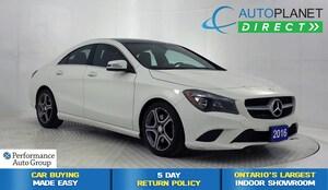 2016 Mercedes-Benz CLA-Class CLA250 4MATIC, Premium Pkg, Navi, Back Up Cam!