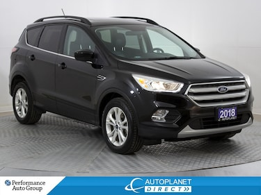 2018 Ford Escape SEL AWD, Canadian Tour Pkg, Navi, Back Up Cam! SUV