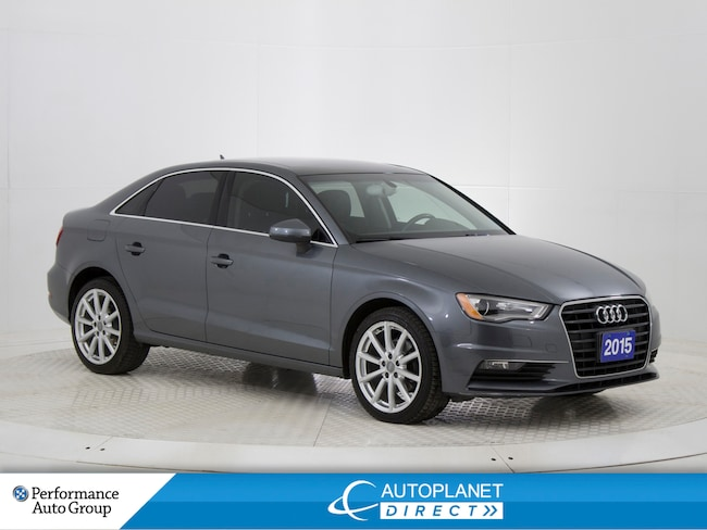 2015 Audi A3 2.0 TDI Progressive Front Trak, Moon Roof! Sedan