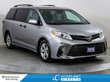 2018 Toyota Sienna , 7-Passenger, Navi, Back Up Cam, Siri Eyes Free! Van Passenger Van