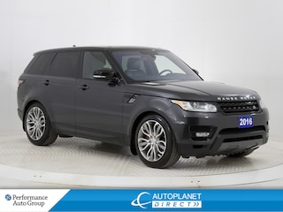 2016 Land Rover Range Rover Sport V8 Supercharged Dynamic 4x4, 3M Protective Tape! SUV
