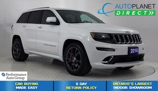 2016 Jeep Grand Cherokee SRT Hemi, Upgraded Leather+Cust Preferred+TowPkg! SUV