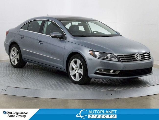 2013 Volkswagen CC Sportline, Back Up Cam, Sunroof, Heated Seats! Sedan