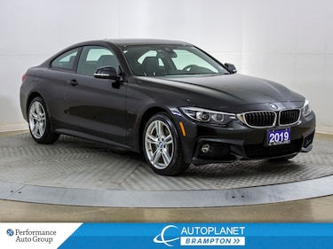 2019 BMW 4 Series 430i xDrive, M Pkg, Navi, Back Up Cam, New Brakes! Coupe