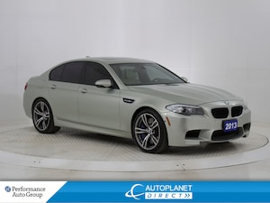 2013 BMW M5 Navi, Heads Up Display, Night Vision System!