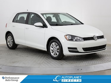 2017 Volkswagen Golf Trendline, Back Up Cam, Heated Seats, Bluetooth! Hatchback
