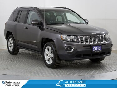 2017 Jeep Compass Sport 4x4, High Altitude, Leather, Sunroof! SUV