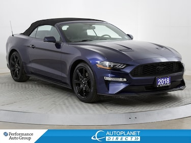 2018 Ford Mustang Ecoboost Premium, Convertible, Navi, Leather! Convertible