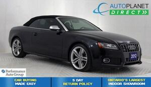 2012 Audi S5 Convertible Quattro, Premium Pkg, Heated Seats!