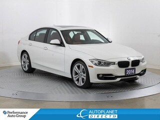 2014 BMW 328i xDrive, Navi, Sunroof, Memory Seat! Sedan